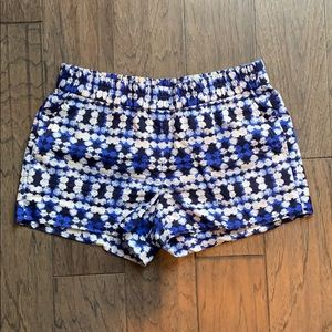 J. Crew patterned shorts